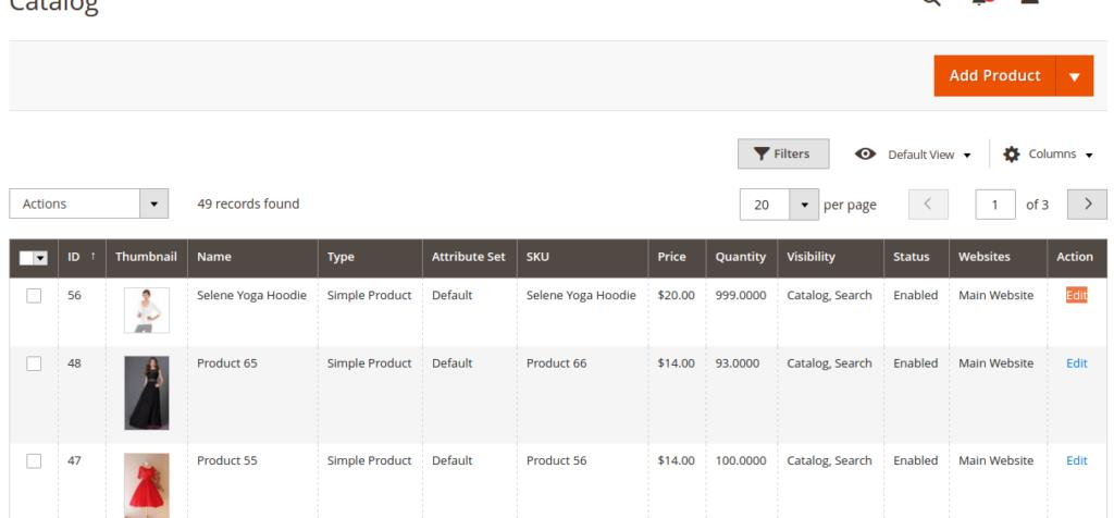 manage custom options Magento 2 extension
