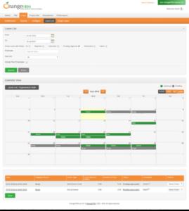 Orangehrm Leave Calendar Plugin